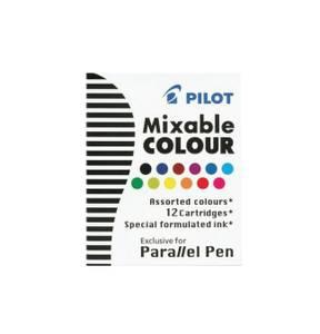 Bilde av Pilot Parallel Pen Blekkpatroner, 12 farger