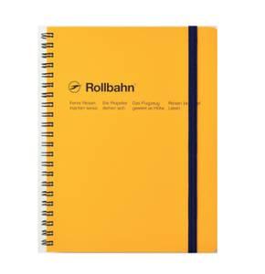Bilde av Delfonics Rollbahn Notatbok A5, Gul