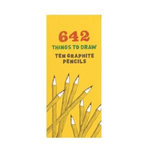 Bilde av 642 Things to Draw gave eske/ 10 stk blyanter