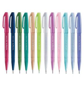Bilde av Pentel Touch Pen SES15C-A Fleksibel, Pastel 12