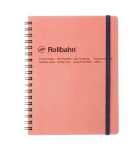 Bilde av Delfonics Rollbahn Notatbok A5, rosa