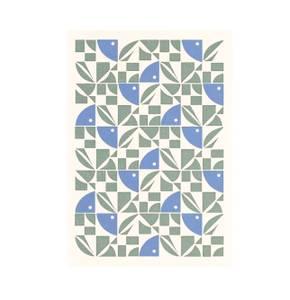 Bilde av Esme Winter Kort, Bright Blue