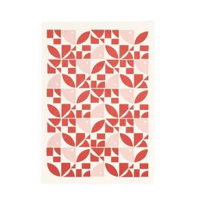 Bilde av Esme Winter Kort, Red Pink