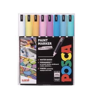 Bilde av POSCA PC-1MR Ultrafine Paintmarker Pastellfarger,