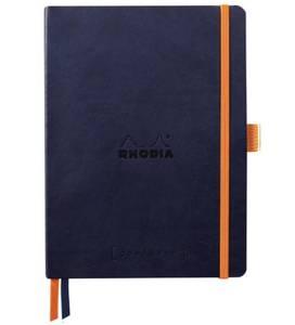 Bilde av Rhodia Goalbook, Dots A5, Midnight Ny FARGE