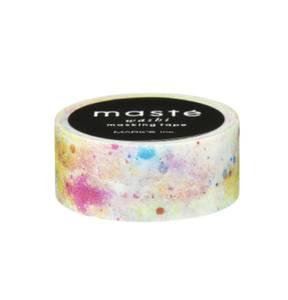 Bilde av MASTE tape, White Cosmic