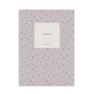 Bilde av Notatbok, Flower lavender Dots A5