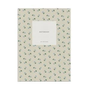 Bilde av Notatbok, Creamy Grey Dots A5