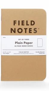 Bilde av Field Notes MEMO 3 stk/ Plain P