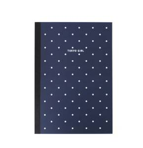 Bilde av Paperways Notatbok Tokyo Girl Dots, A5