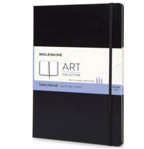 Bilde av Moleskine ART Skissebok Hardcover Sort A4