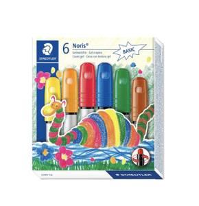 Bilde av Staedtler Noris Junior 6 Gel Crayons