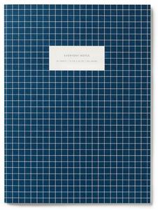 Bilde av Notatbok Dark blue, linjert A4