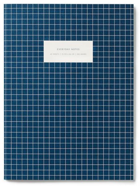 Notatbok Dark blue, linjert A4