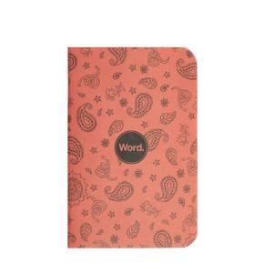 Bilde av Word Notebooks SNAKE BANDANA, 3 pack Linjer P