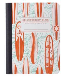 Bilde av Decomposition Notatbok CLASSIC SURFBOARDS, B5
