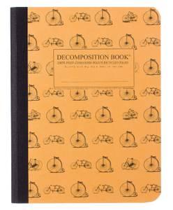 Bilde av Decomposition Notatbok VINTAGE BICYCLES, B5