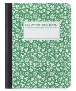 Bilde av Decomposition Notatbok PARSLEY, B5