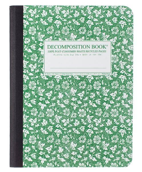 Decomposition Notatbok PARSLEY, B5