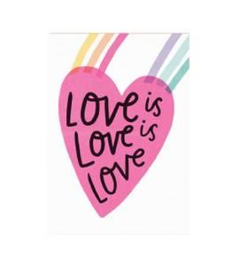 Bilde av Hello Lucky kort, Love is