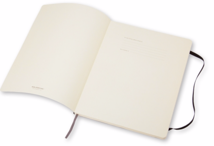 Moleskine Classic Soft/ Hardcover Notatbok XL, Dots