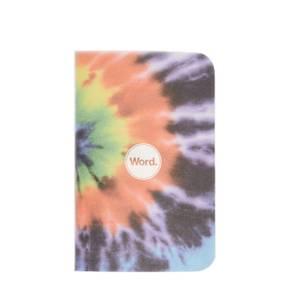 Bilde av Word Notebooks TIE-DYE, 3 pack Linjer P