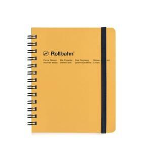Bilde av Delfonics Rollbahn Notebook M, Gul