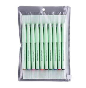 Bilde av CDT/ Pentel Brush Sign Pen, 10 farger