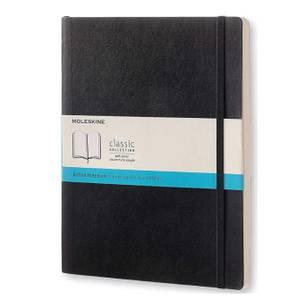 Bilde av Moleskine Classic Soft/ Hardcover Notatbok XL,
