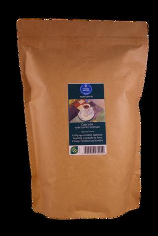 Bilde av Cascadia koffeinfri espressoblanding 1kg