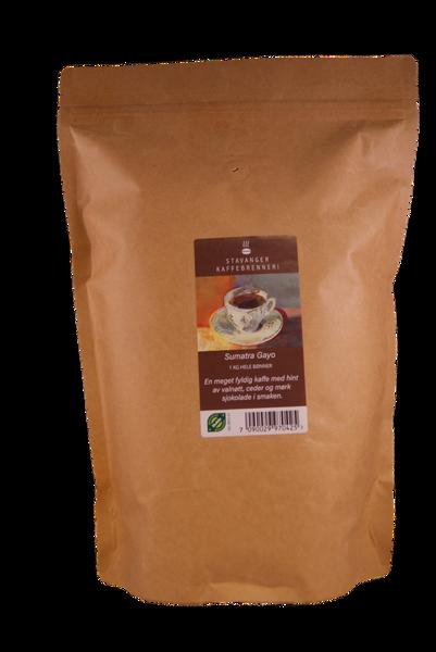 Sumatra Gayo, 1kg økologisk