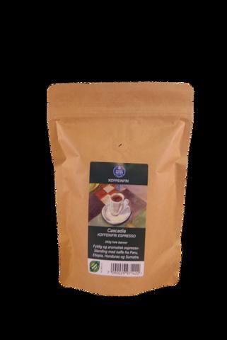 Bilde av Cascadia Koffeinfri espressoblanding 250g