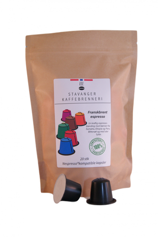 Image of Brenneriets espresso blend 20 capsules organic
