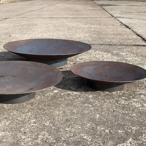 Bilde av Vannspeil eller bålpanne rundt 60 cm med sokkel