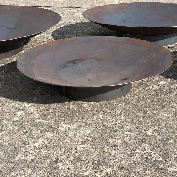 Bilde av Vannspeil eller bålpanne rundt 100 cm med sokkel
