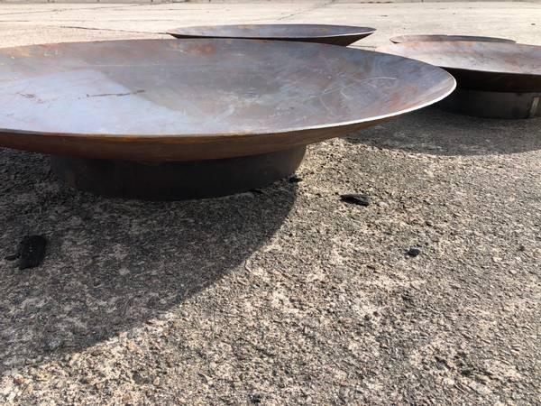Bilde av Vannspeil eller bålpanne rundt 120 cm med sokkel