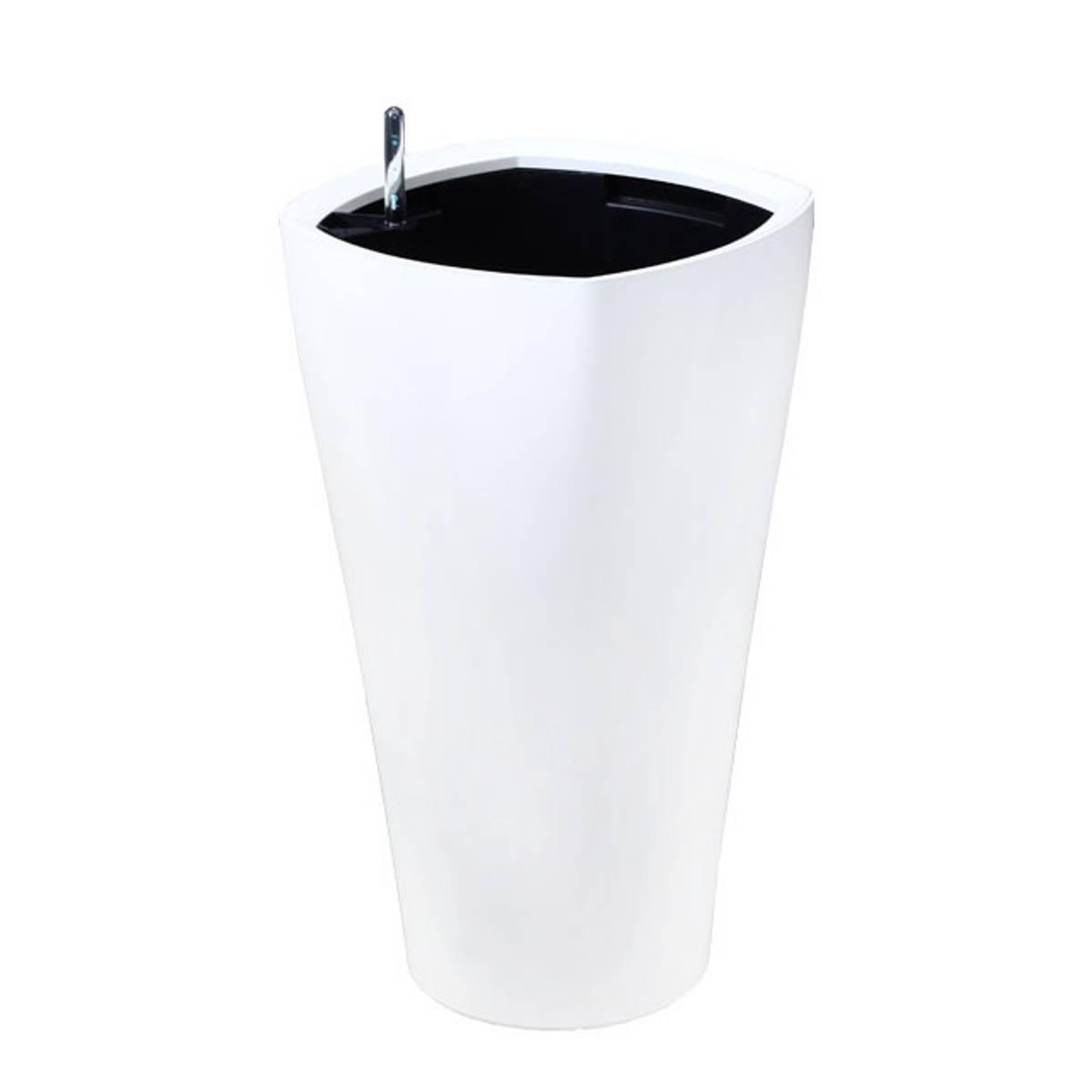 Oxygens Large, b 45cm, l 45cm, h 78cm hvit, sort, kaffe og grå