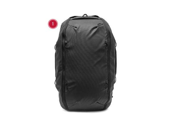 Bilde av Peak Design Travel duffelpack 65L sort