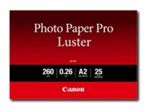 Bilde av CANON LU-101 A2 photo paper Luster 25 sheets