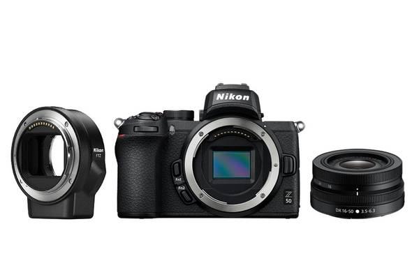 Bilde av Nikon Z50 + NIKKOR Z DX 16-50mm f/3.5-6.3 VR +