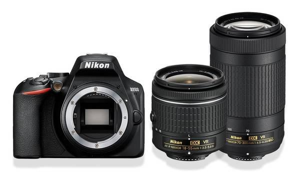 Bilde av Nikon D3500 + AF-P 18-55/3,5-5,6 VR + AF-P