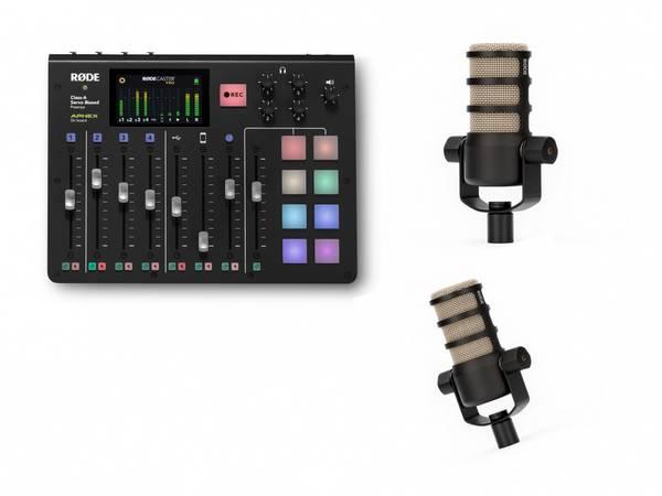 Bilde av RØDECaster Pro studio kit