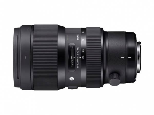 Bilde av Sigma 50-100mm f/1.8 DC HSM Art til Canon