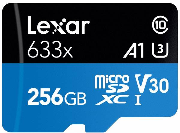 Bilde av LEXAR 633X microSDHC/SDXC w/adap (V30) R95/W45