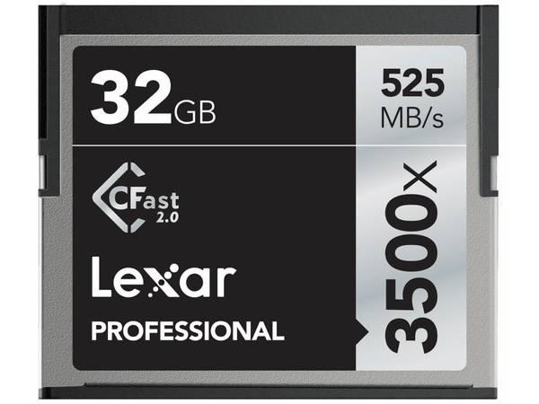 Bilde av Lexar Professional CFast 2.0 3500x 128GB