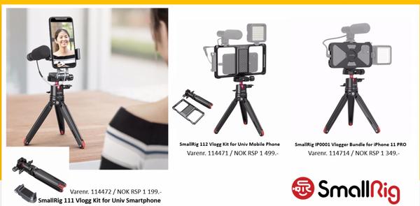 Bilde av SMALLRIG 111 Vlogg Kit for Univ Smartphone