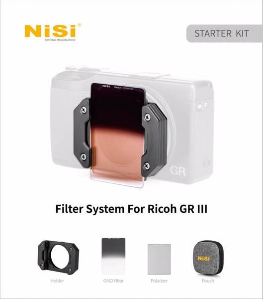 Bilde av NISI Starter Kit For Ricoh GR III