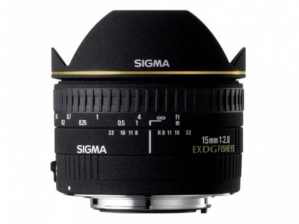 Bilde av Sigma 15mm f/2.8 EX DG Diagonal Fisheye Canon