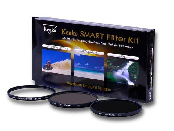 Bilde av Kenko Smart Filter Kit Protect / C-PL / ND8 55mm