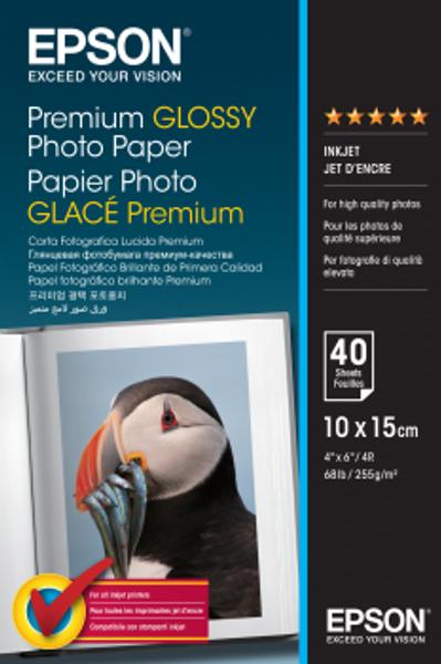 Bilde av Epson Premium Glossy Photo Paper 10x15cm Blankt